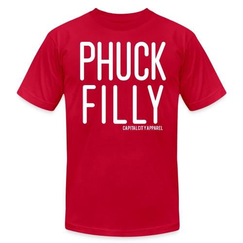 Phuck Filly Men's Tee - Red - Men's  Jersey T-Shirt