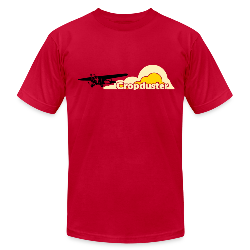 Cropduster - Men's T-Shirt by American Apparel