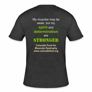 Men's My spirit and determination are stronger - Men's 50/50 T-Shirt