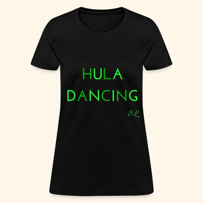 Hula Dancing Dancer Women's T-shirt Clothing by Stephanie Lahart. - Women's T-Shirt