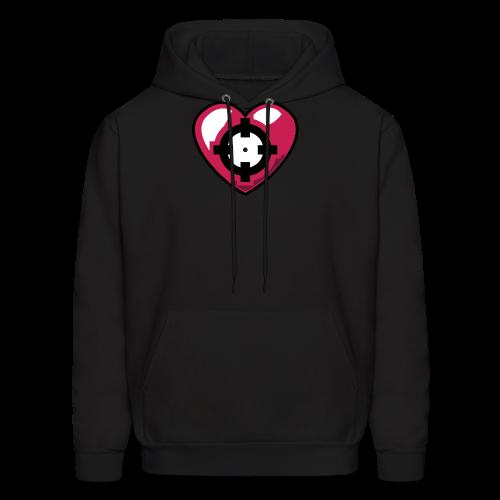 Heart Hoodie - Men's Hoodie