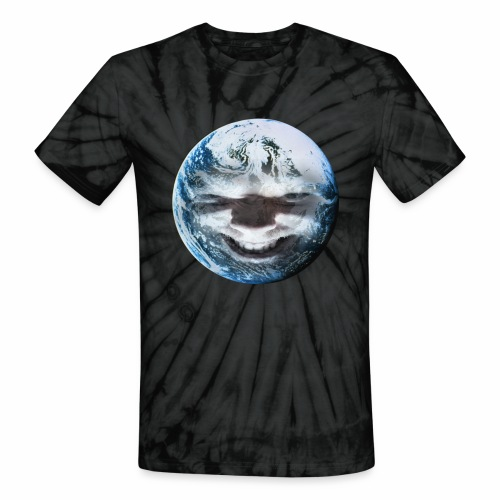 Evil Earth - Unisex Tie Dye T-Shirt