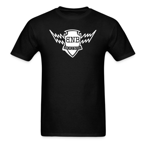 BNB Bolt Logo (Front & Back) Shirt - Men's T-Shirt