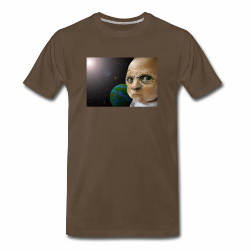 The face of a god - Men's Premium T-Shirt
