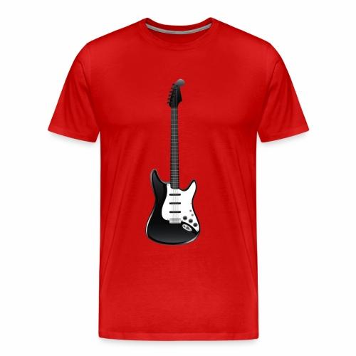 Electric Guitar - Men's Premium T-Shirt