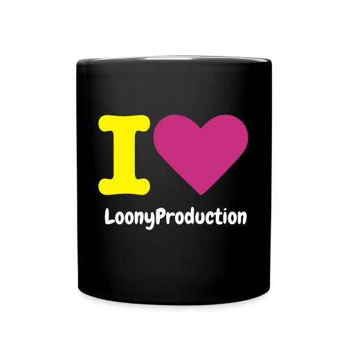I love LoonyProduction - Full Color Mug