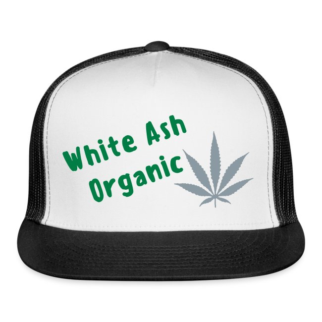 White Ash Organic trucker hat