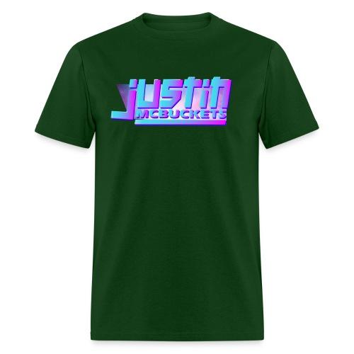 Justin McBuckets Logo Tee - Men's T-Shirt