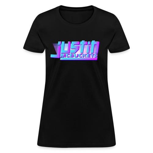 Justin McBuckets Logo Tee - Women's T-Shirt