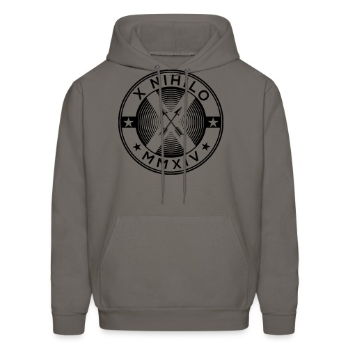 New X Marks The Spot Black Logo - Men's Hoodie