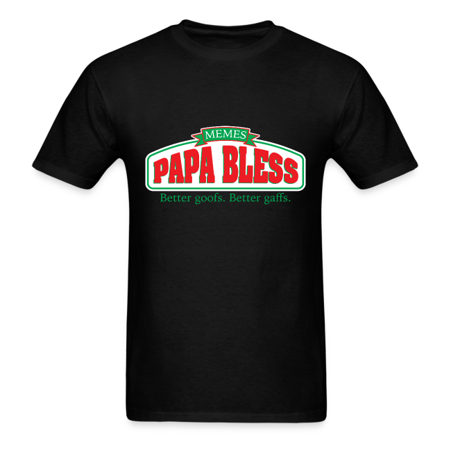 h3h3productions papa bless mens t shirt. Black Bedroom Furniture Sets. Home Design Ideas