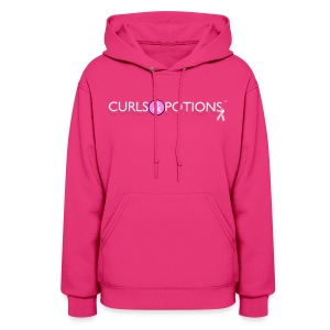 Curls and Potions Pull Over Hoodie - Women's Hoodie