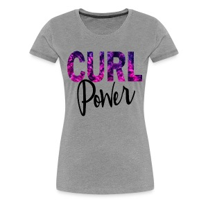 Curl Power - Women's Premium T-Shirt
