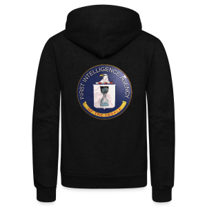 Counter Intelligence - Unisex Fleece Zip Hoodie by American Apparel