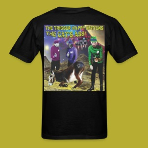 The Cats' Homeworld! - on BACK - Men's T-Shirt - Men's T-Shirt