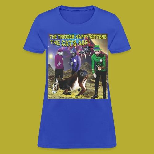 The Cats' Homeworld! on FRONT - Women's T-Shirt - Women's T-Shirt