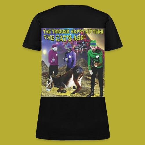 The Cats' Homeworld! - on BACK - Women's T-Shirt - Women's T-Shirt