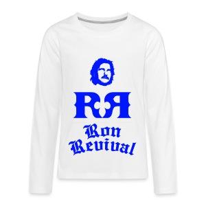 Men's Ron Revival Thermal - Kids' Premium Long Sleeve T-Shirt