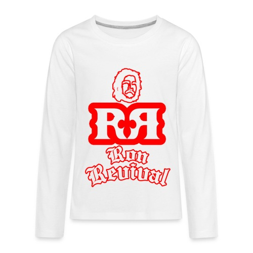 Ron Revival Thermal in Red  - Kids' Premium Long Sleeve T-Shirt
