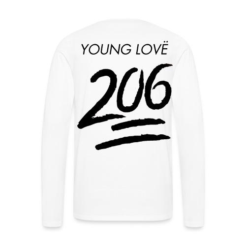 Classic Young Lovë Long Sleeve Tee - Men's Premium Long Sleeve T-Shirt