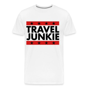 Travel Junkie - Men's Premium T-Shirt