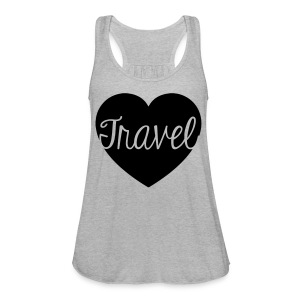 travel lover - Women's Flowy Tank Top by Bella