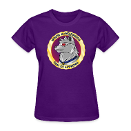 Women's T-Shirts ~ Women's T-Shirt ~ Wolfie McWolfington Seal of Approval Women's
