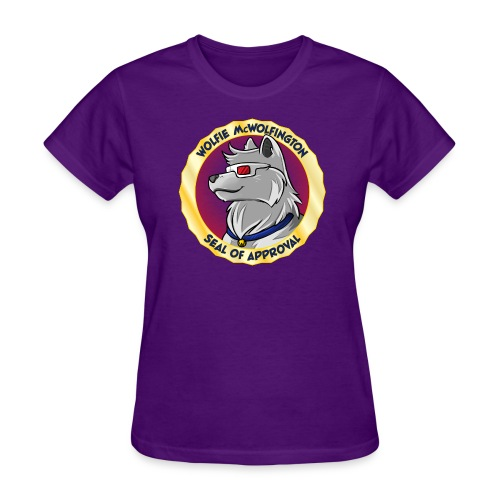 Wolfie McWolfington Seal of Approval Women's - Women's T-Shirt