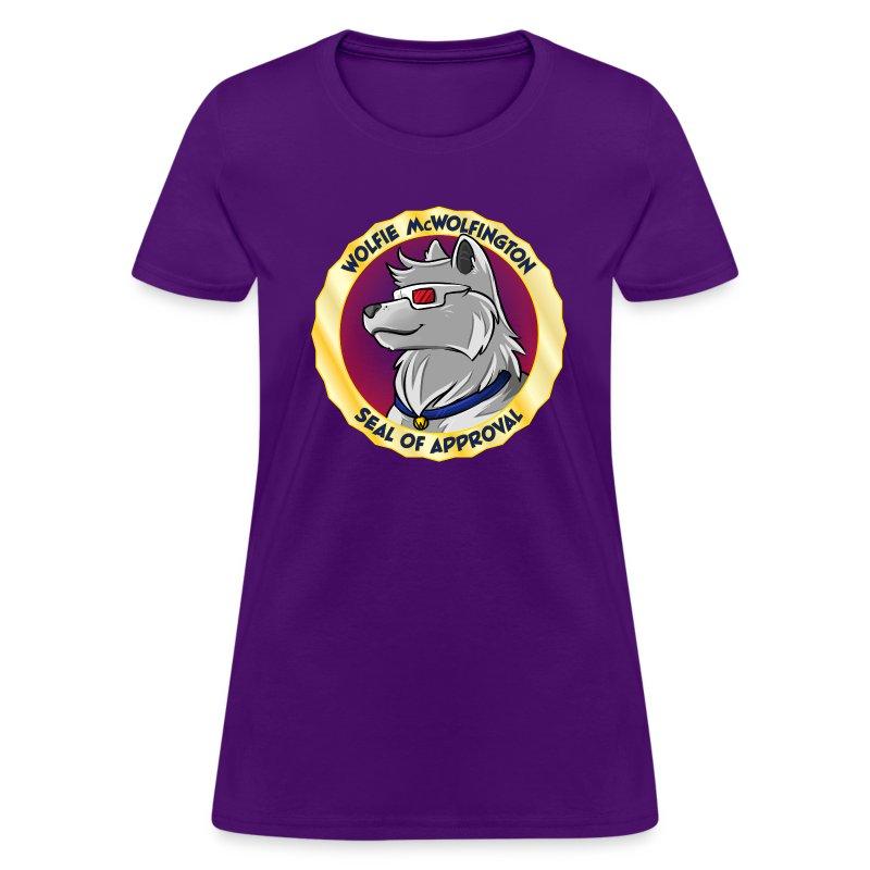 Wolfie McWolfington Seal of Approval Women's - Women's T-Shirt