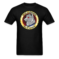 T-Shirts ~ Men's T-Shirt ~ Wolfie McWolfington Seal of Approval Men's