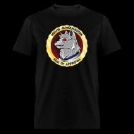 T-Shirts ~ Men's T-Shirt ~ Wolfie McWolfington Seal of Approval Men's