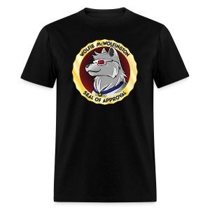 Wolfie McWolfington Seal of Approval Men's - Men's T-Shirt