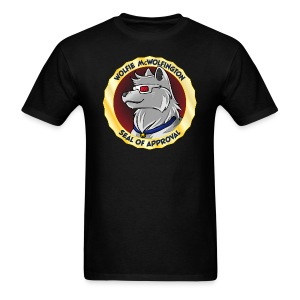 Wolfie McWolfington Seal of Approval Men's - Men's T-Shirt