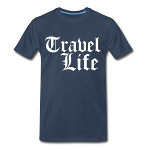 Travel Life - Men's Premium T-Shirt