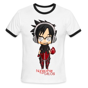Talos Chibi - Men's Ringer T-Shirt - Men's Ringer T-Shirt