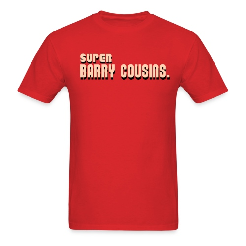 Super Barry Cousins (Men's) - Men's T-Shirt