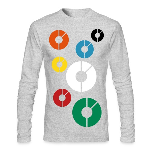 It was late when I made this - Men's Long Sleeve T-Shirt by Next Level