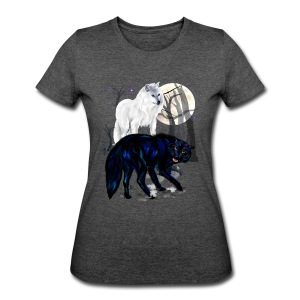 Two Wolves - Women's 50/50 T-Shirt