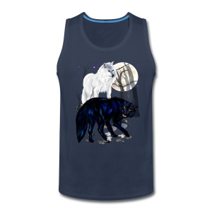 Two Wolves - Men's Premium Tank