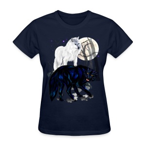 Two Wolves - Women's T-Shirt