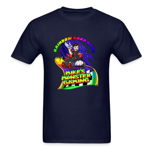 Rainbow Road Hype - Men's T-Shirt