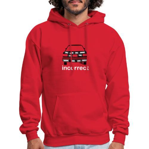 Incorrect: Bumper Stickers Hoodie - Men's Hoodie