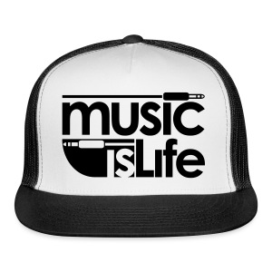 MUSIC LIFE SNAP CAP - Trucker Cap
