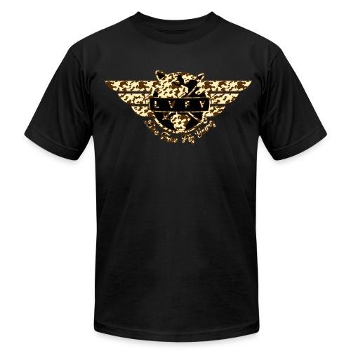 MENS BOOTCAMP - Blk - Men's Fine Jersey T-Shirt