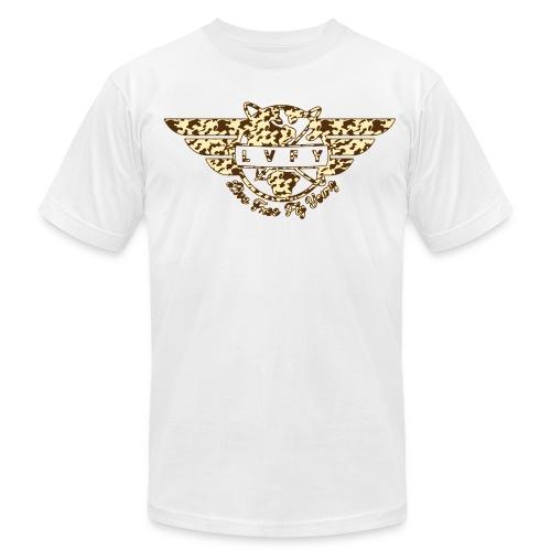 MENS BOOTCAMP - WHT - Men's Fine Jersey T-Shirt