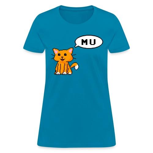 Mu cat (Feminine) - Women's T-Shirt