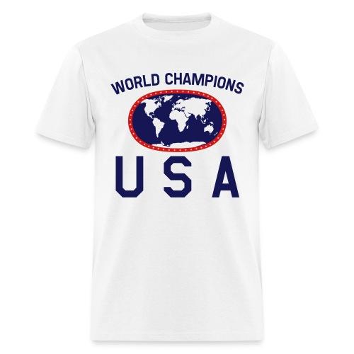 USA World Champions - Men's T-Shirt