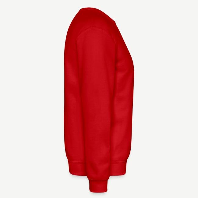 HBCU And Chill - Men's White, Black and Red Sweatshirt