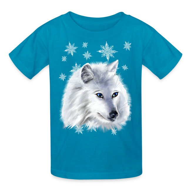 WHITE SNOW WOLF