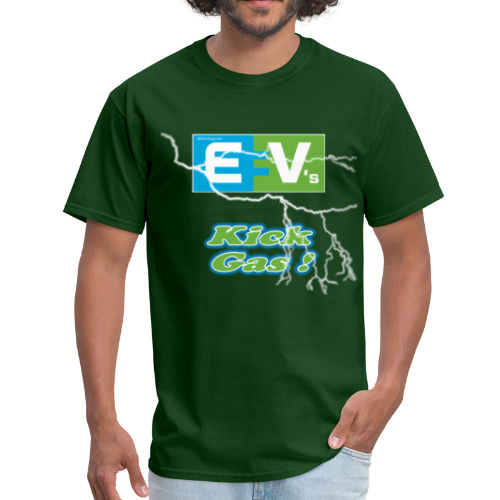 Men's Standard T- EV3 kicks Front - Men's T-Shirt